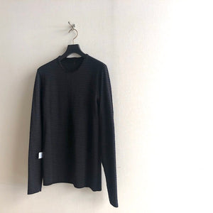 -〔MEN'S〕-   hannes roether ハネスルーザー  HR-LEOLO REVERSSIBLE KNIT