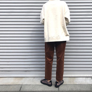 -〔WOMEN'S〕-  MY_ マイ  CORDUROY TAPERED PANTS