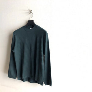 -〔MEN'S〕-  GICIPI ジチピ  COTTON CASHMERE CREW NECK KNIT