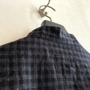 -〔MEN'S〕-  hannes roether ハネスルーザー  HR-SOL CHECK SHIRTS