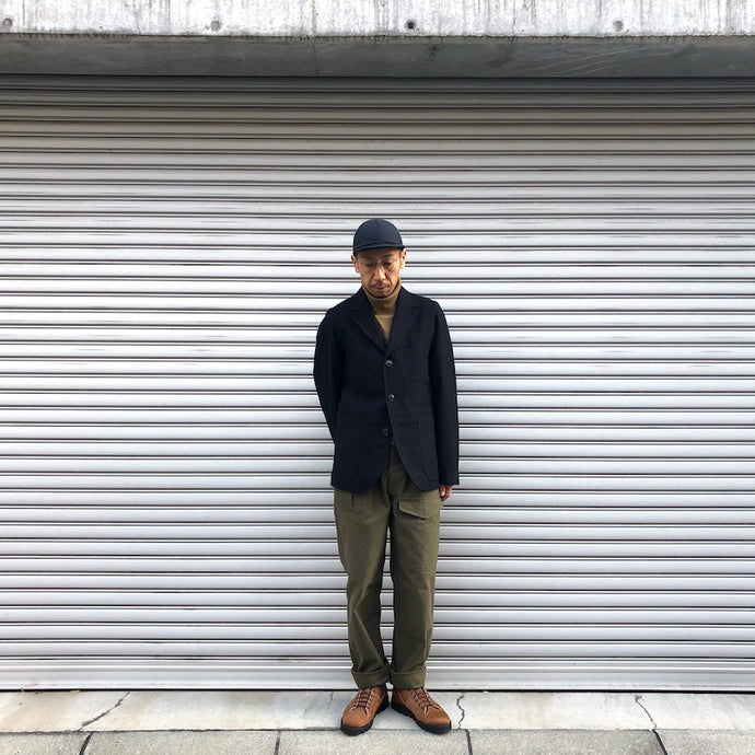-〔MEN'S〕-  Nigel Cabourn ナイジェルケーボン  HOSPITAL JACKET WOOL FLANEL