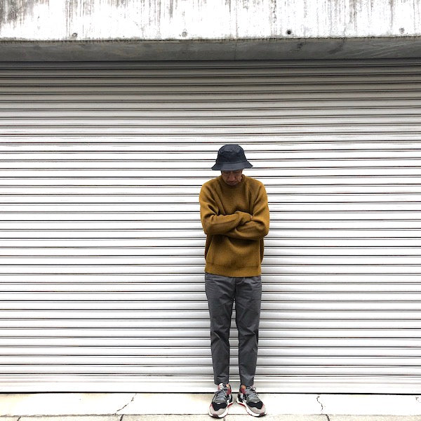 -〔MEN'S〕-  EVCON エビコン  LOW GAUGE CREW KNIT  LIVING CONCEPTよりEVCONへブランド名変更