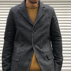 -〔MEN'S〕-    hannes roether ハネスルーザー    HR-SCHUM JACKET