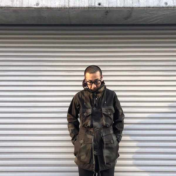 -〔MEN'S〕-   Ark Air アークエアー   UNLINED SMOCK DISPERSION CAMO JACKET