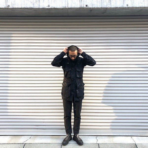 -〔MEN'S〕-   Ark Air アークエアー   UNLINED SMOCK SHADOW CAMO JACKET