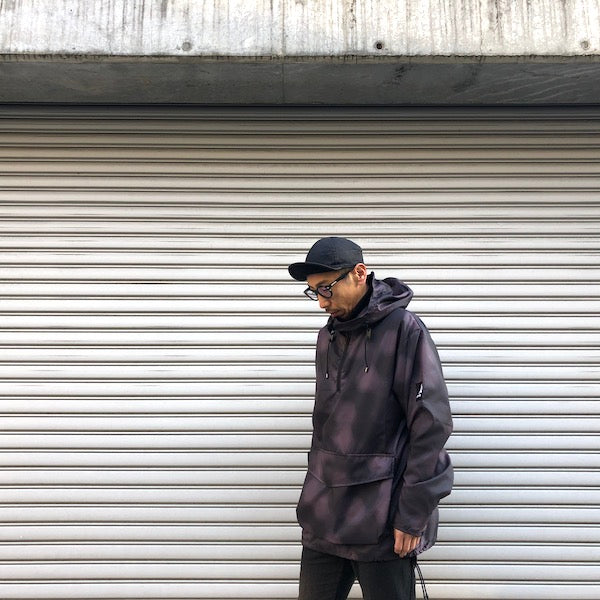 -〔MEN'S〕-   Ark Air アークエアー   STOAWAY NILON PRINT DISPERSION CAMO JACKET