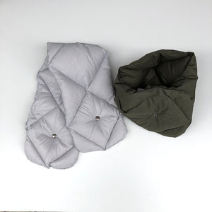 -〔MEN'S〕〔WOMEN'S〕-  THE LOFT LABO ロフトラボ  WANG  QUILTING DOWN MUFFER SHORT