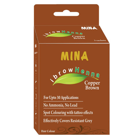 COPER BROWN MINA HENNA