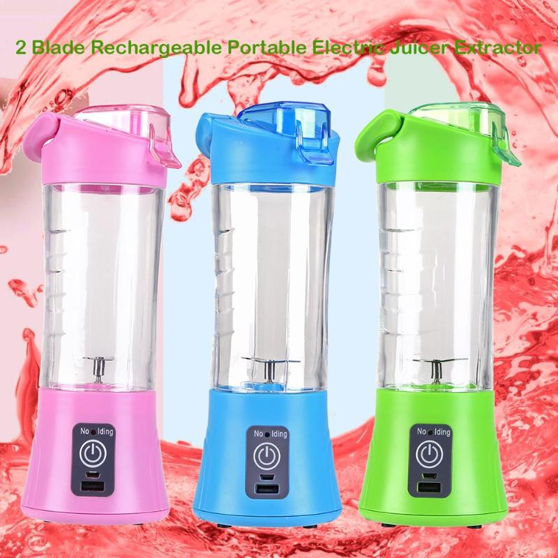 Rechargeable Portable Juicer / Smoothie Blender (NEW 2019)