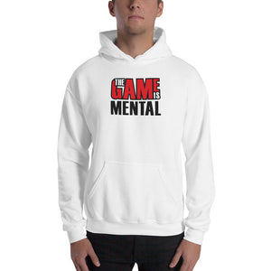 The Game is Mental White Hoodie