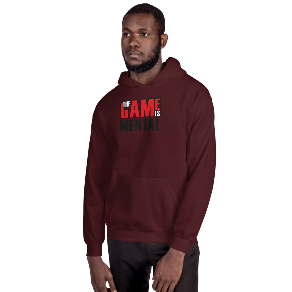 The Game is Mental Gray Hoodie