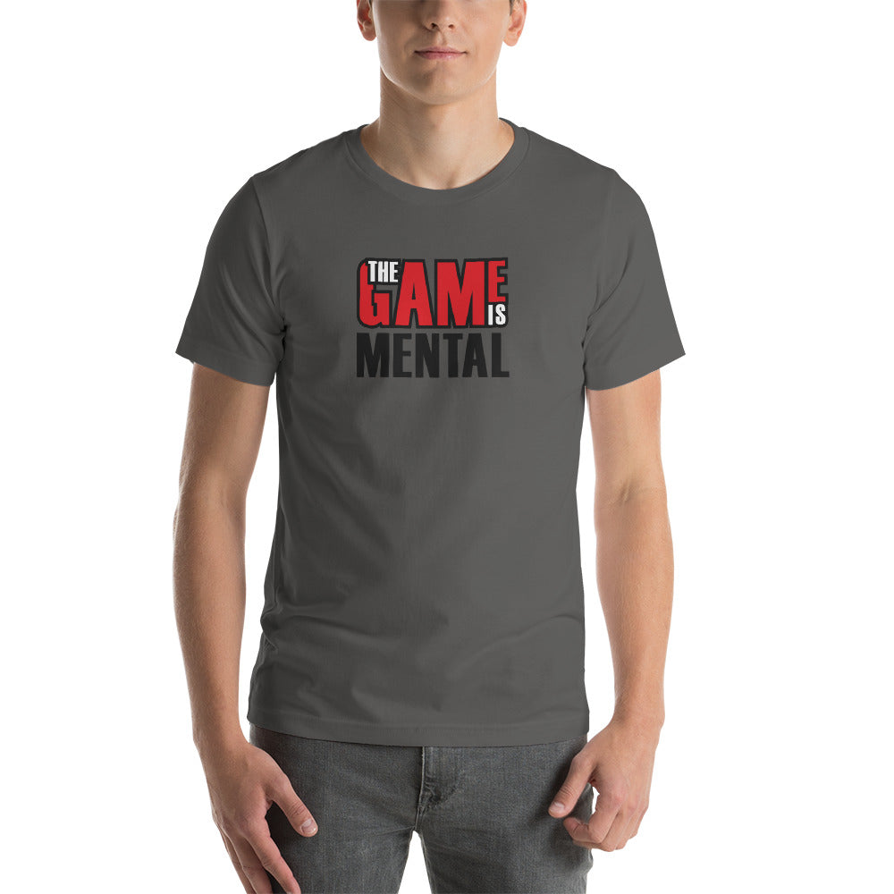 The Game is Mental Asphalt Tee