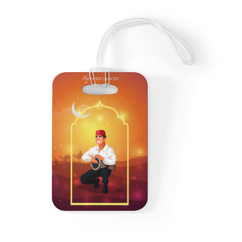 Belly Dance Magic Drummer Bag Tag