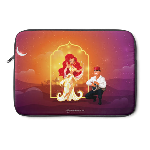 Belly Dance Magic Laptop Sleeve