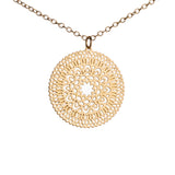 Marrakesh Necklace - 12k Gold Plated