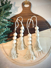 Load image into Gallery viewer, Boho Bead Ornaments (Set of 4)
