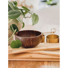 Load image into Gallery viewer, Natural Coconut Bowls (Set of two)