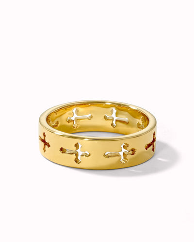 Horizontal Cross Ring - Sparklane