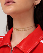 Name Choker - Blackletter - Sparklane