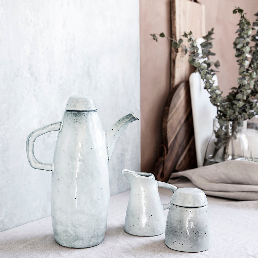 grey milk jug by house doctor