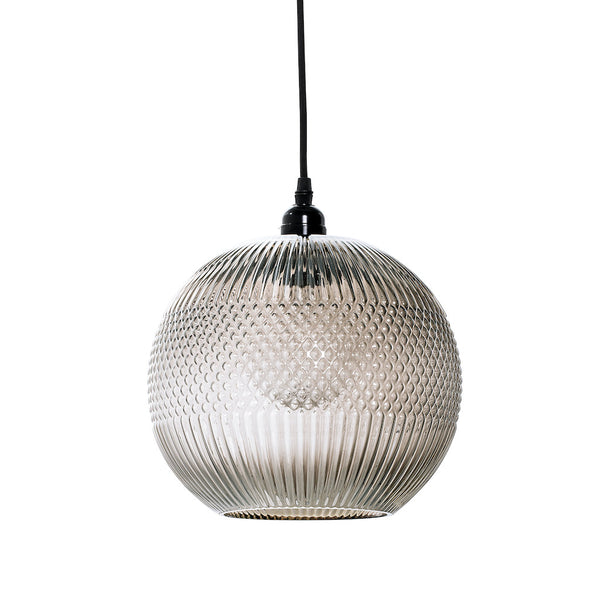Jahan glass pendant light by Bloomingville