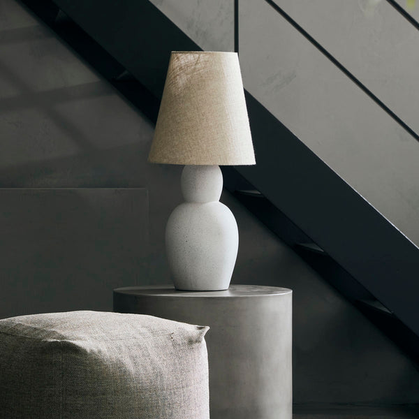 cement table lamp Orga by house doctor