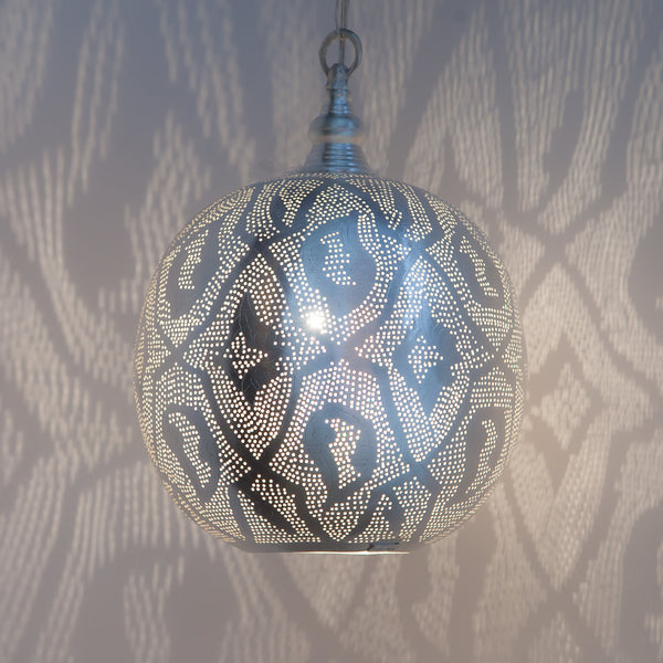 Filigrain Moroccan pendant light