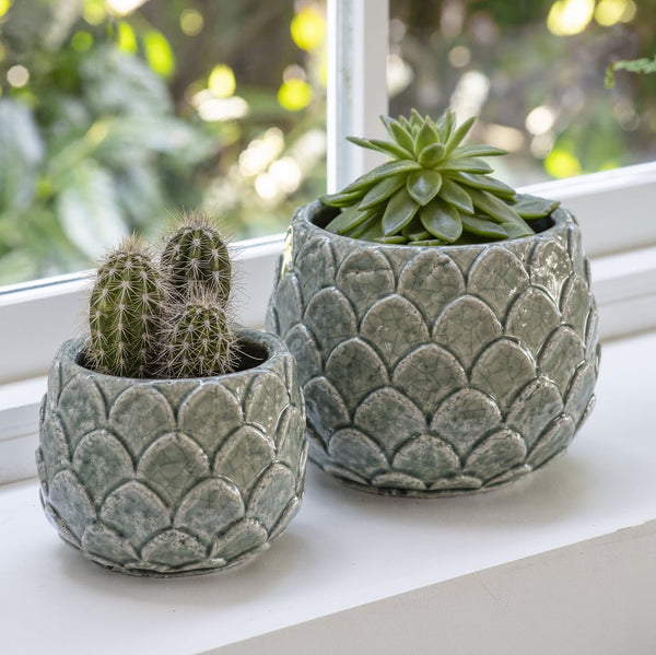 Artichoke shaped plant pot Garden Trading