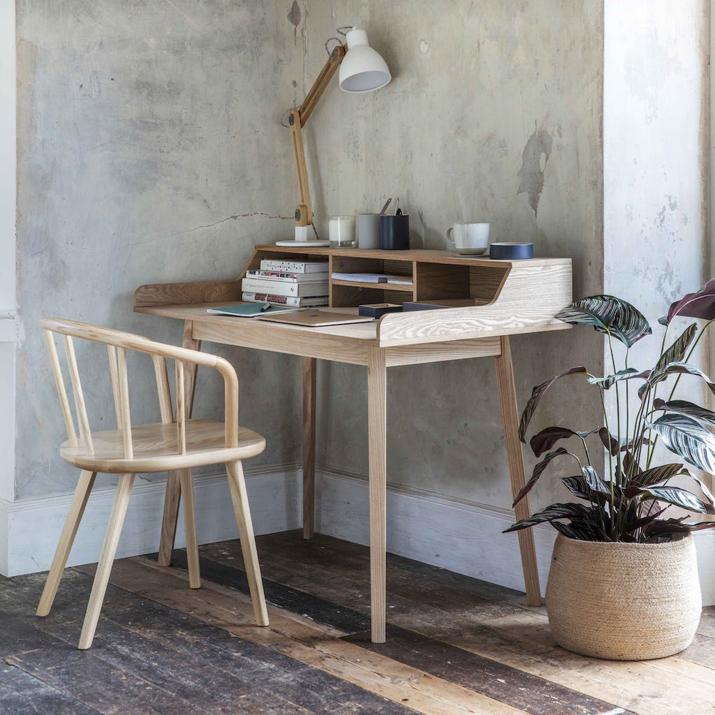 Ashwicke wooden desk by Garden Trading