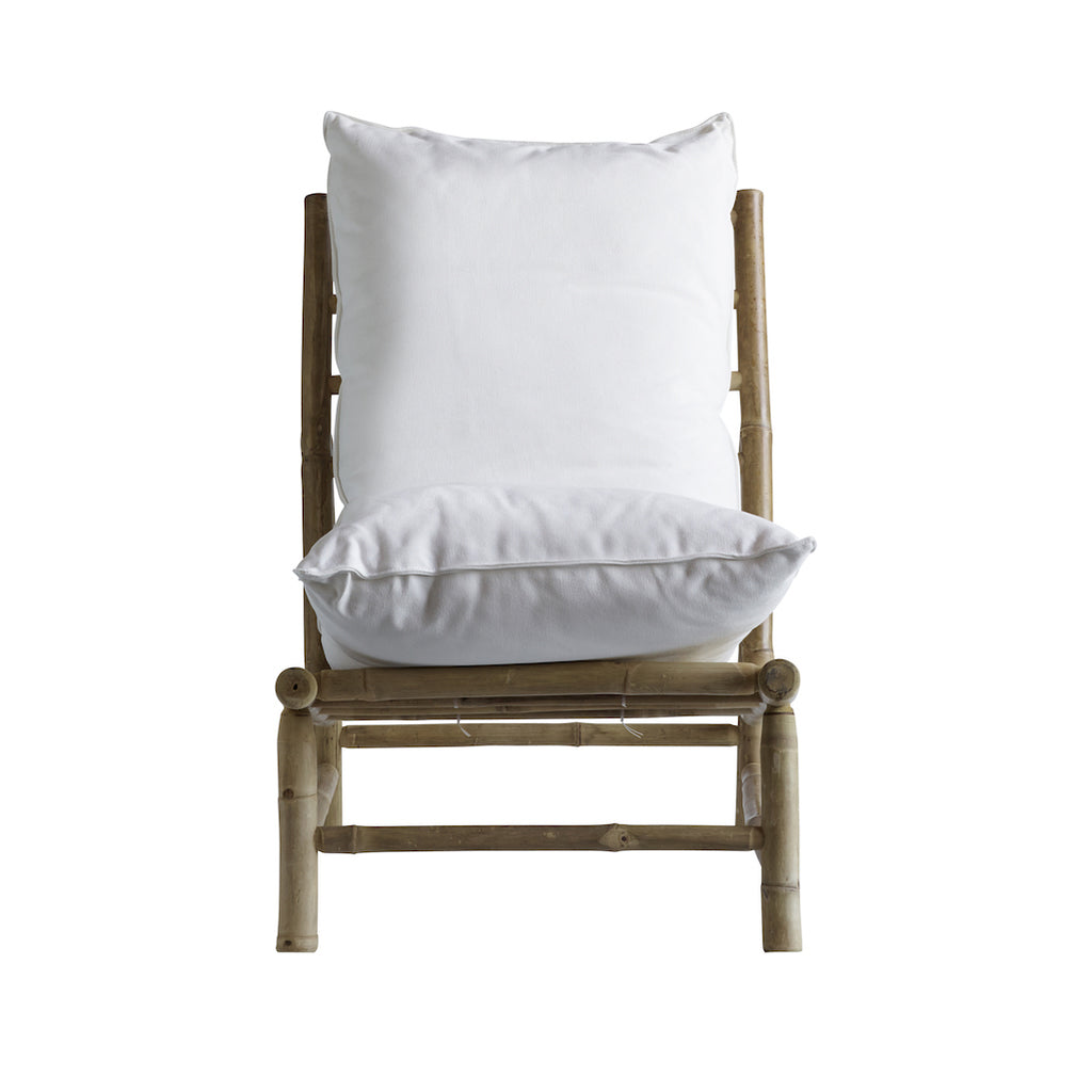 Tine K bamboo chair white