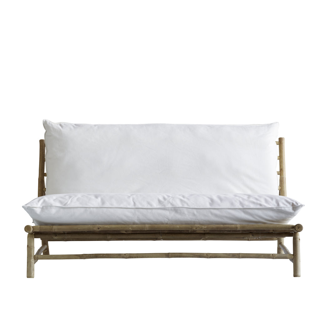 outdoor bamboo sofa