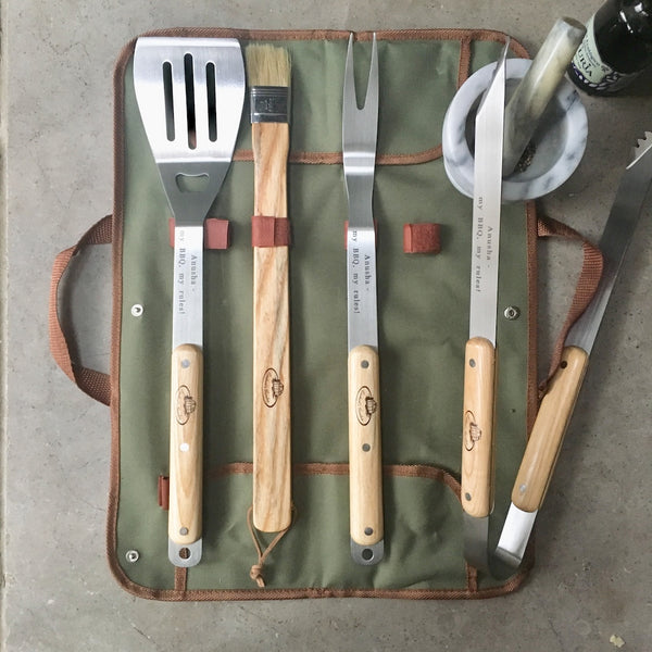 Personalised BBQ tool set