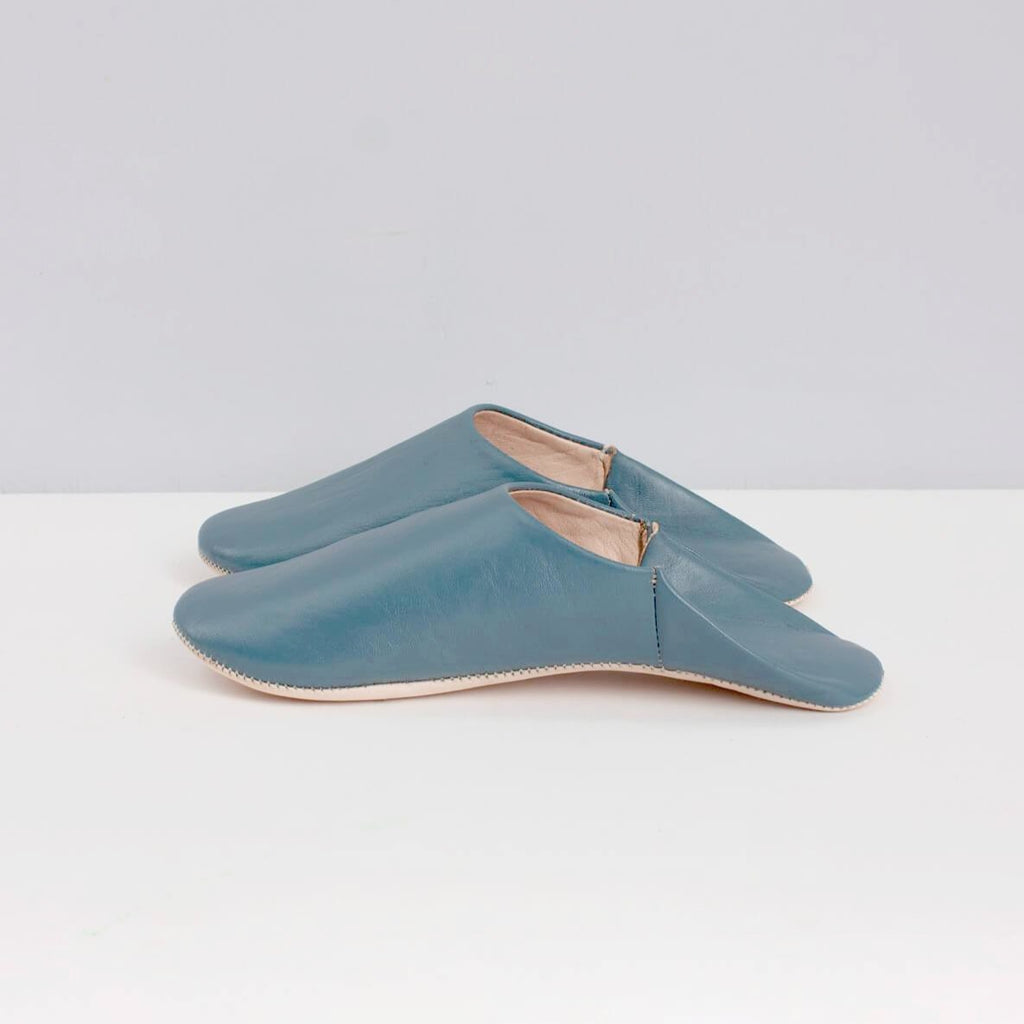 Moroccan leather slippers by Bohemia