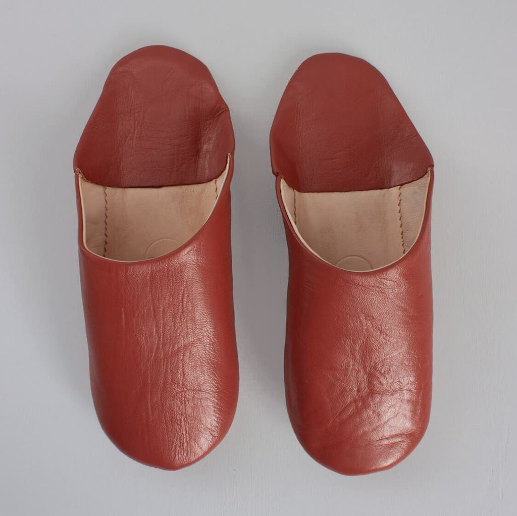 mens leather Moroccan slippers
