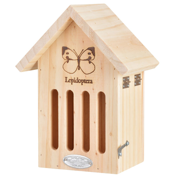 wooden butterfly house for the garden