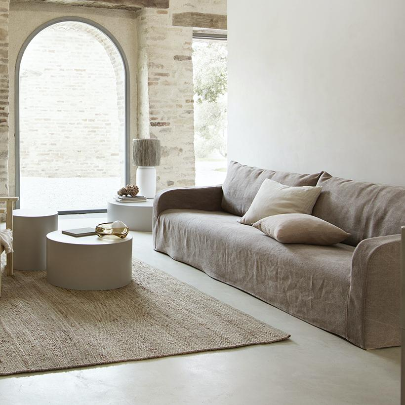 Tine K sofa soft in linen