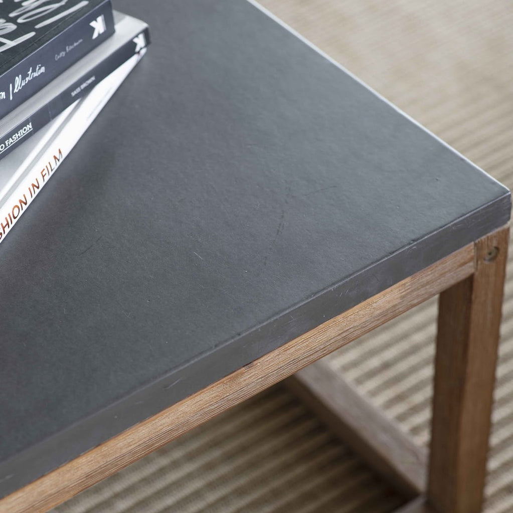 dark grey top on Chilson coffee table