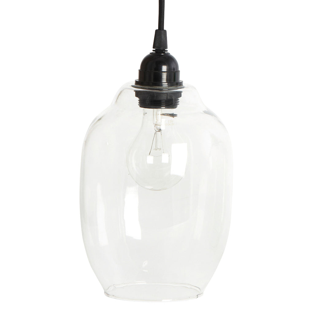 House Doctor clear glass pendant light
