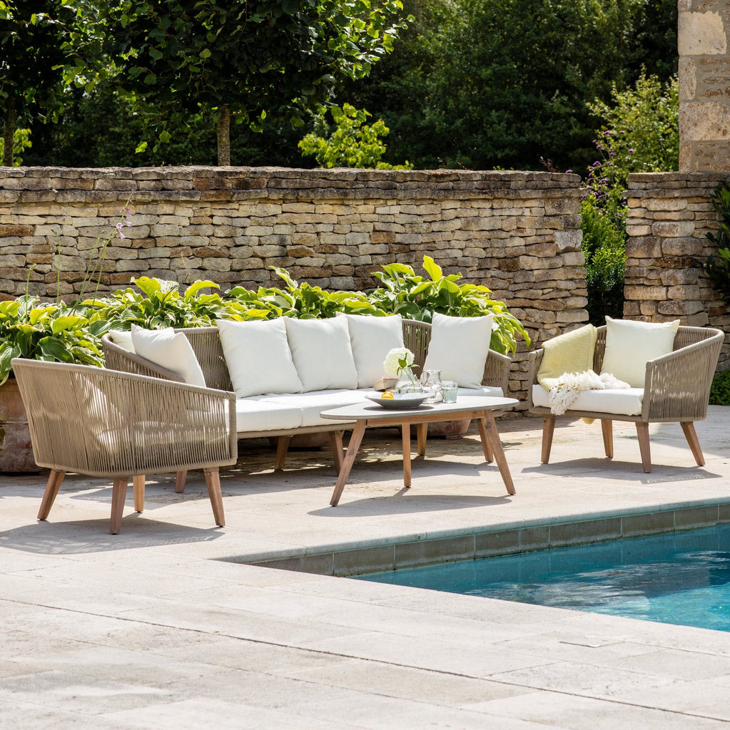 Colwell outdoor sofa set by Garden Trading