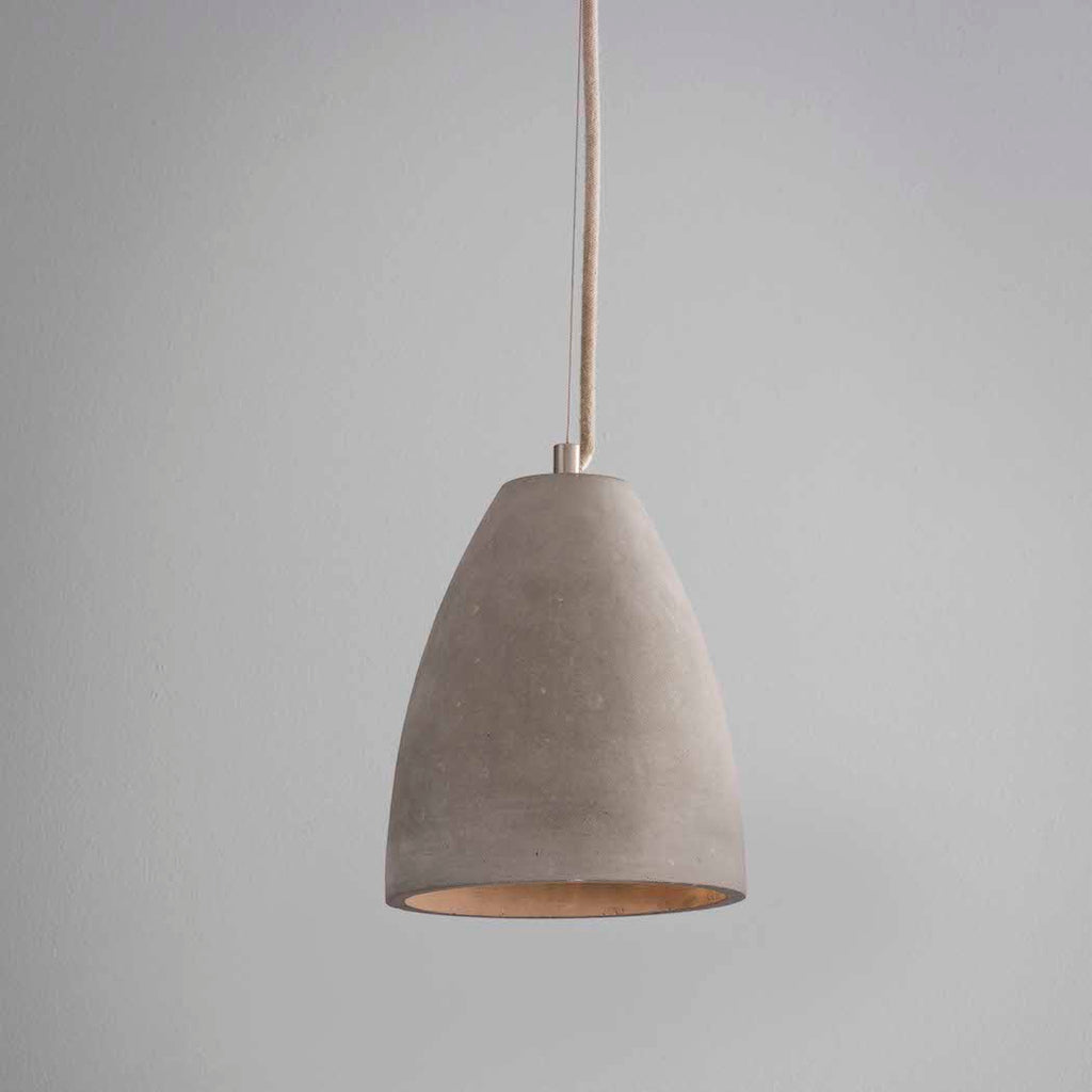 Dome Concrete Pendant Light