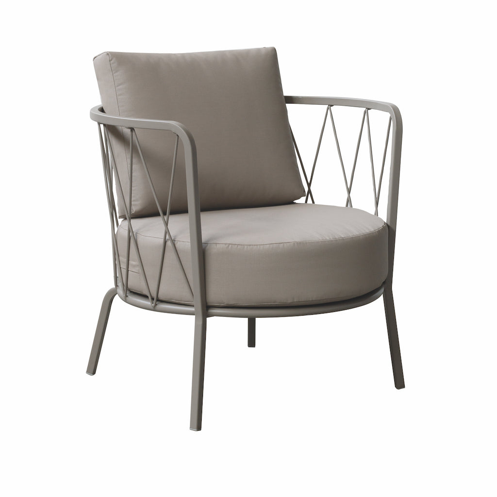 desiree outdoor metal chair