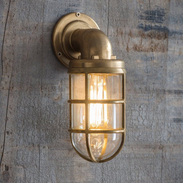 OUTDOOR BRASS DOWN LIGHT