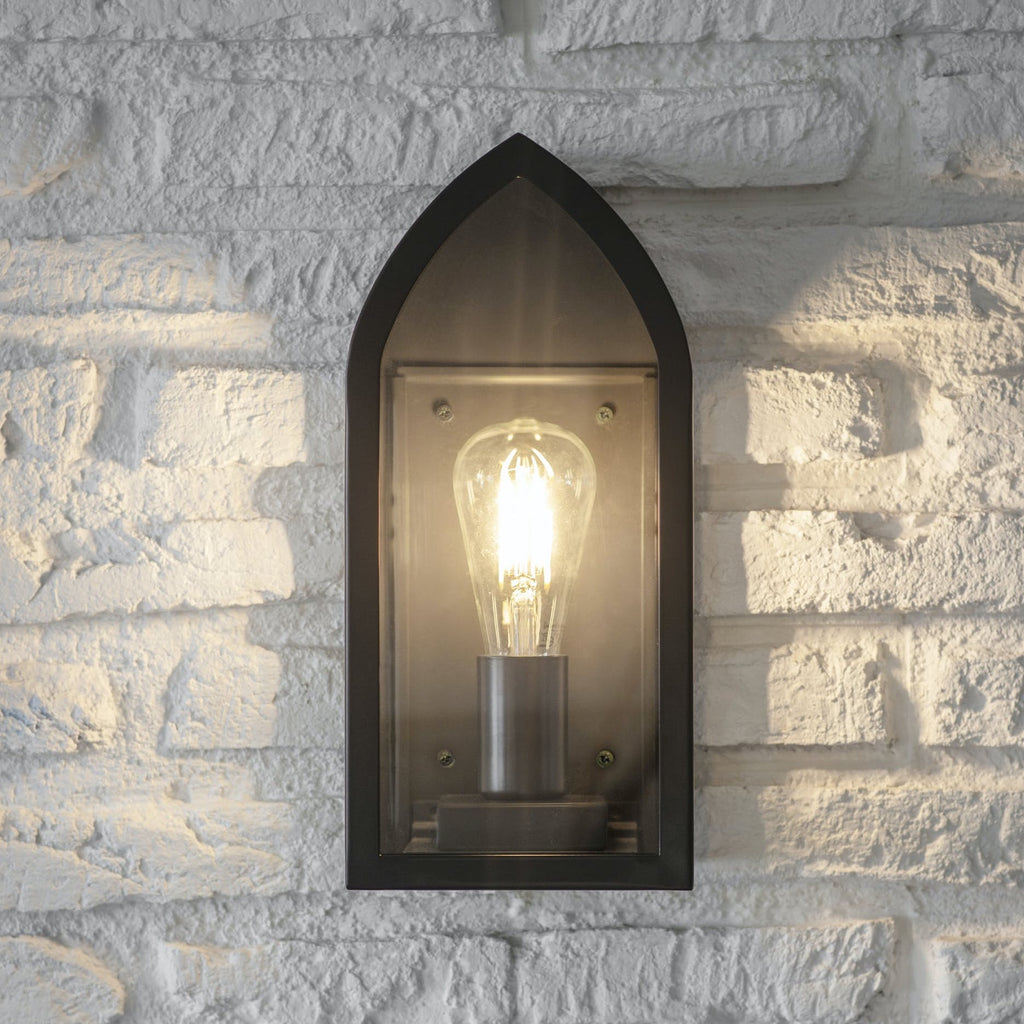 Fairford black outdoor light
