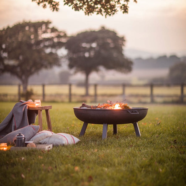 Foscot steel fire pit by Garden Trading