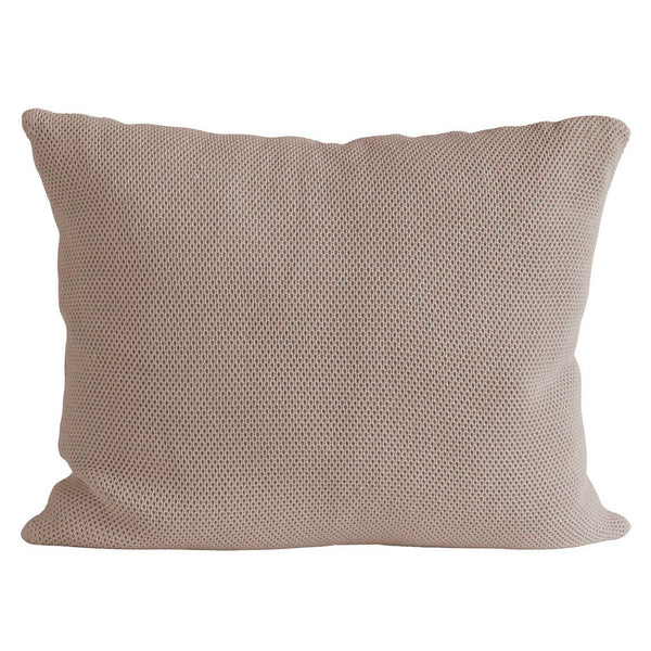 waffle cushion by Tine K home in Hazel