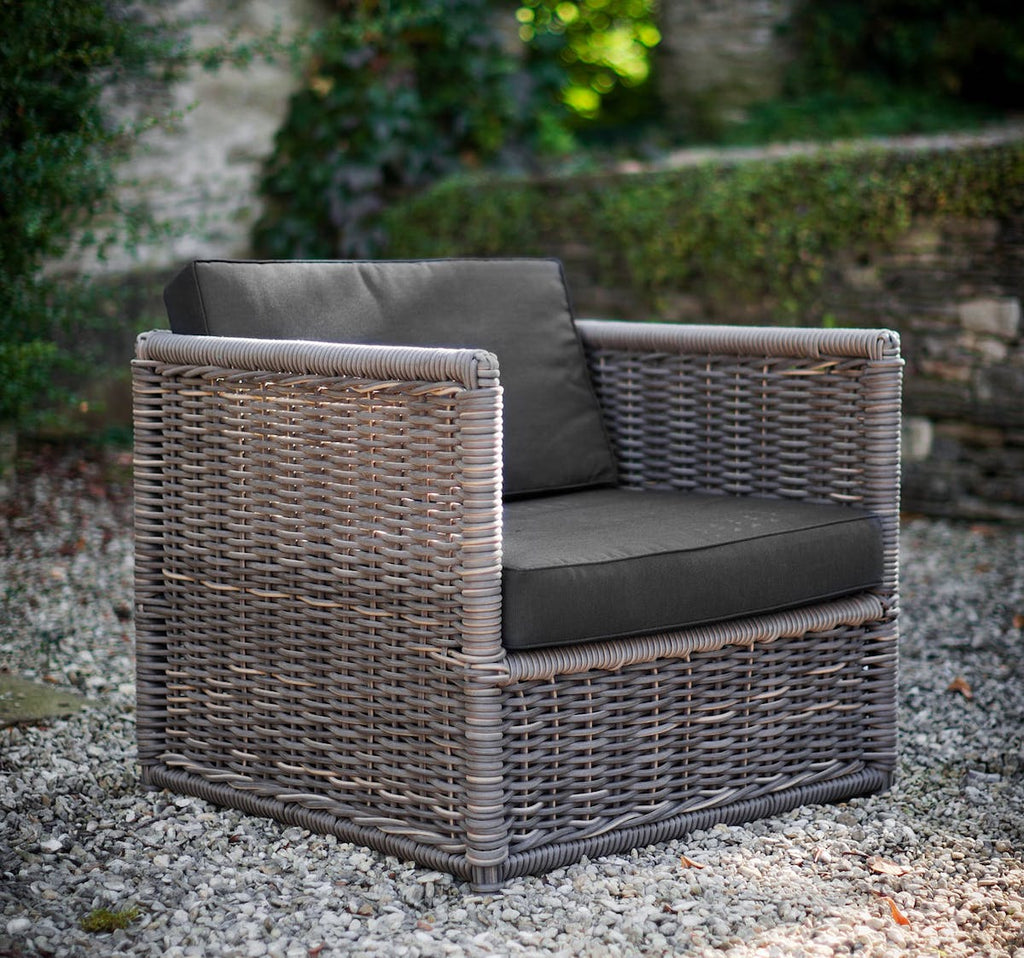 Harting rattan chair by Garden Trading