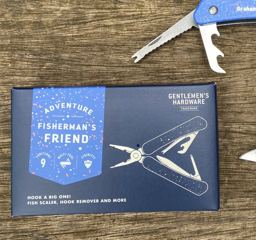fisherman's friend multi tool by wild and wolf