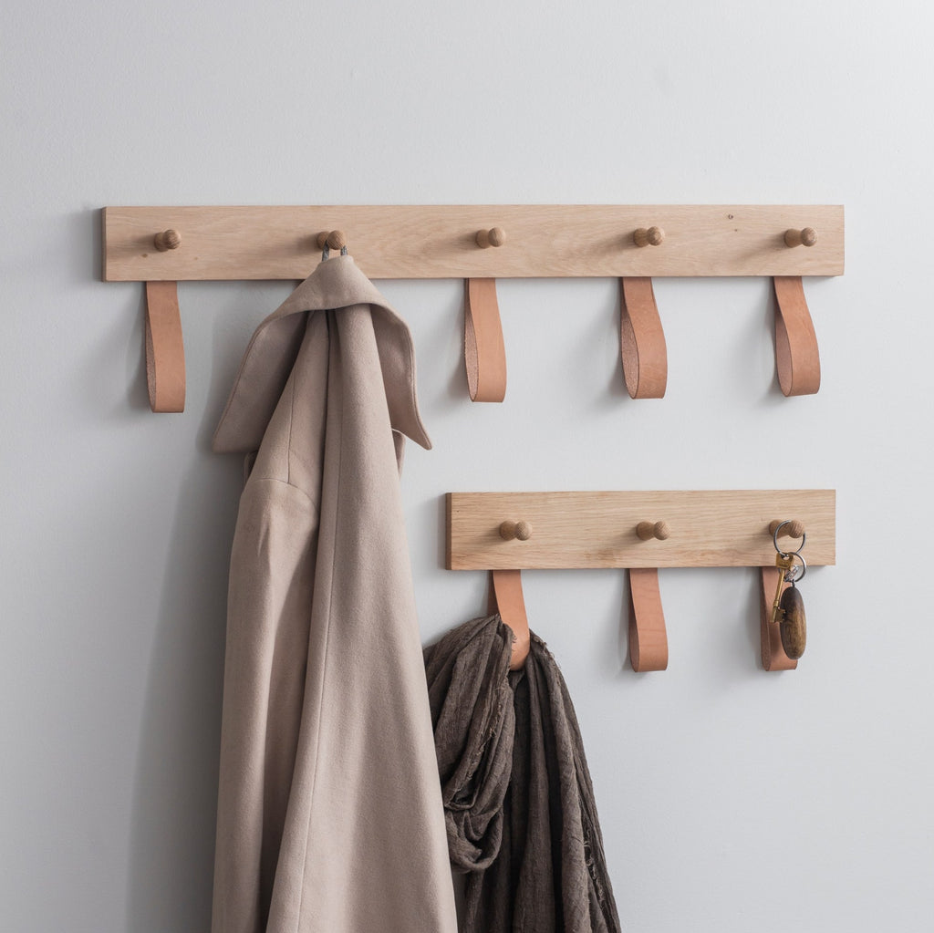 Kelston wooden coat rack