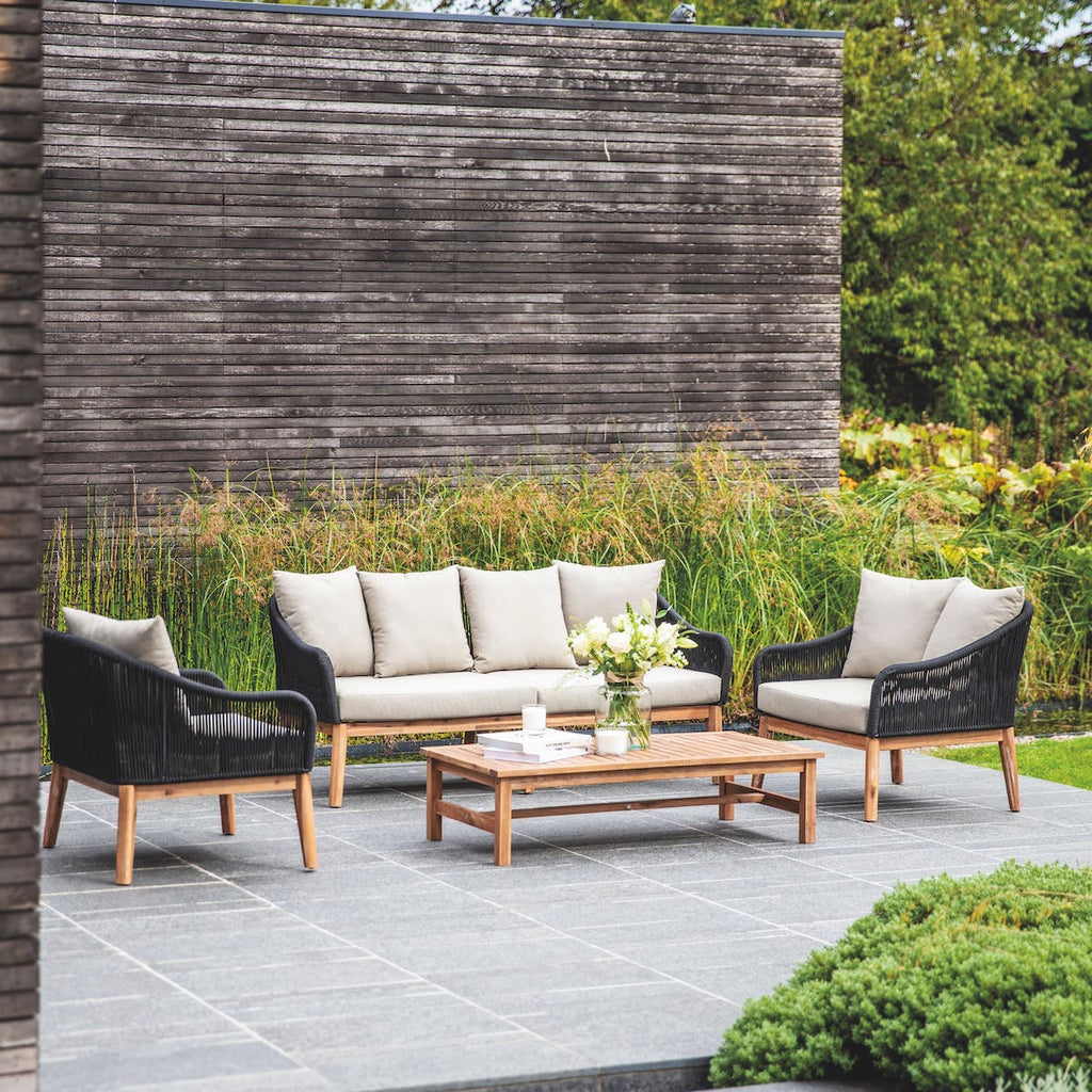 Luccombe sofa set by Garden Trading