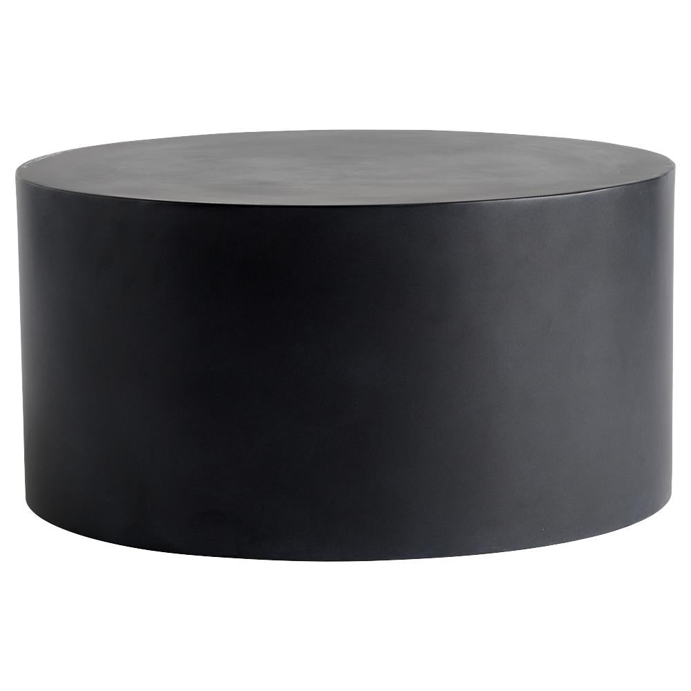 black metal coffee table by Tine K home